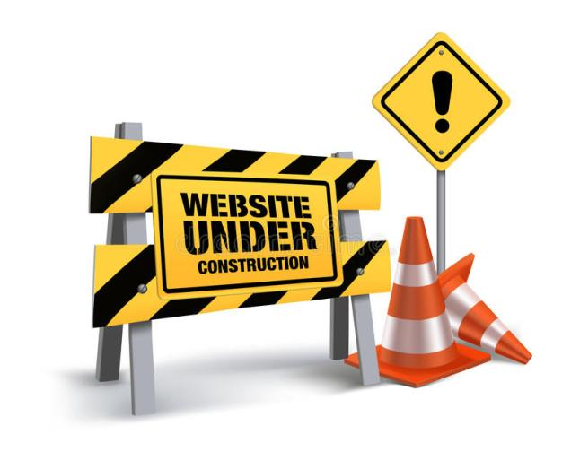 website-under-construction-sign-white-background-d-mesh-vector-illustration-49640768